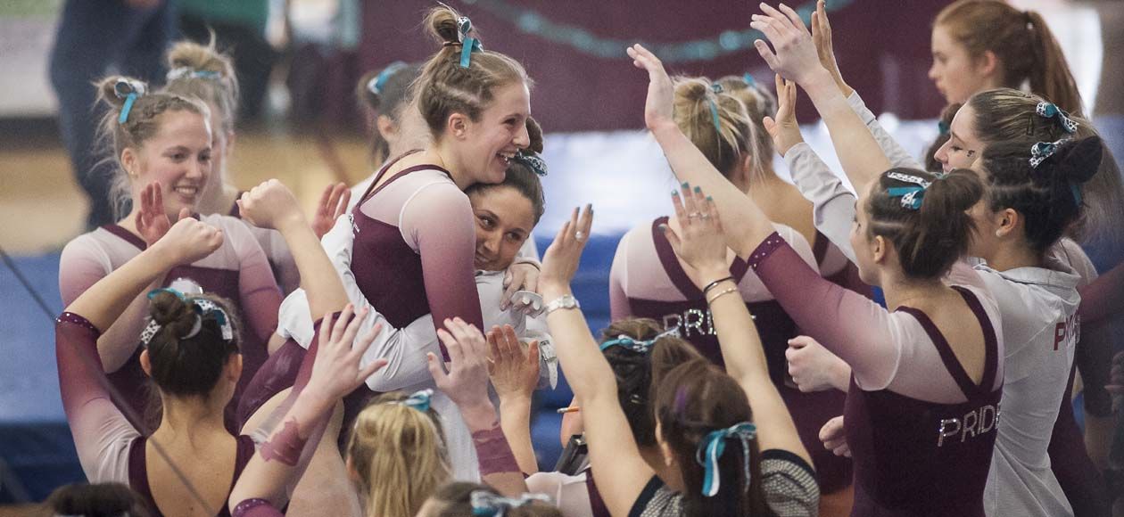Women's Gymnastics Earns NACGC/W Team Academic Award; 14 Student-Athletes Recognized Individually