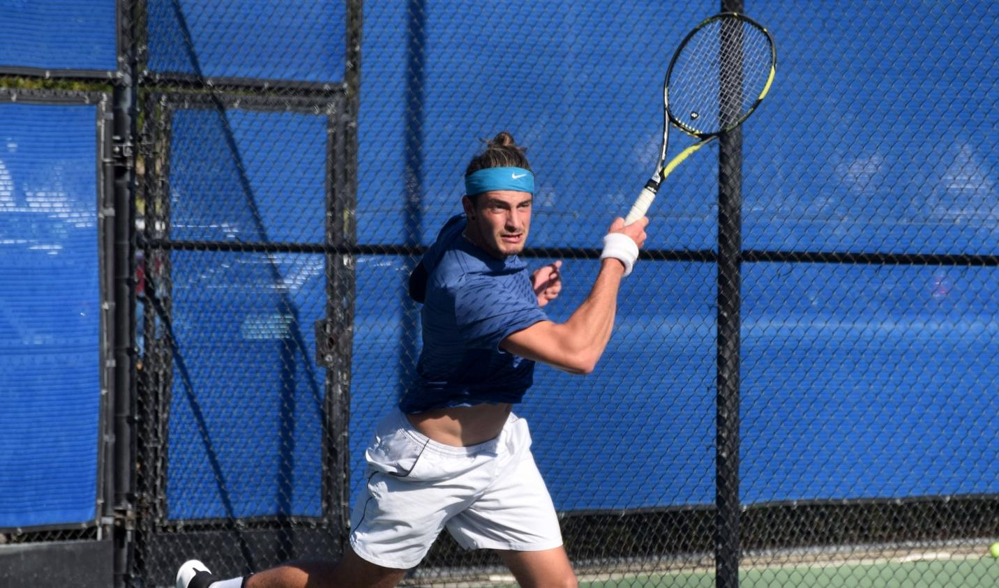 Men's tennis team topples Division III Wisconsin-Whitewater