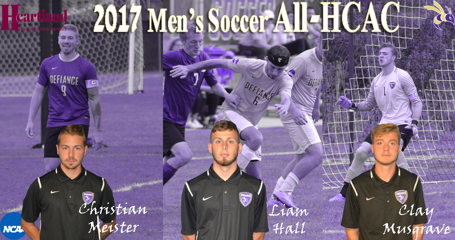 Men's Soccer Lands Trio on All-HCAC List