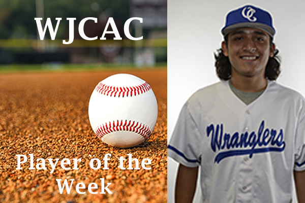WJCAC Baseball Player of the Week (April 8-14)