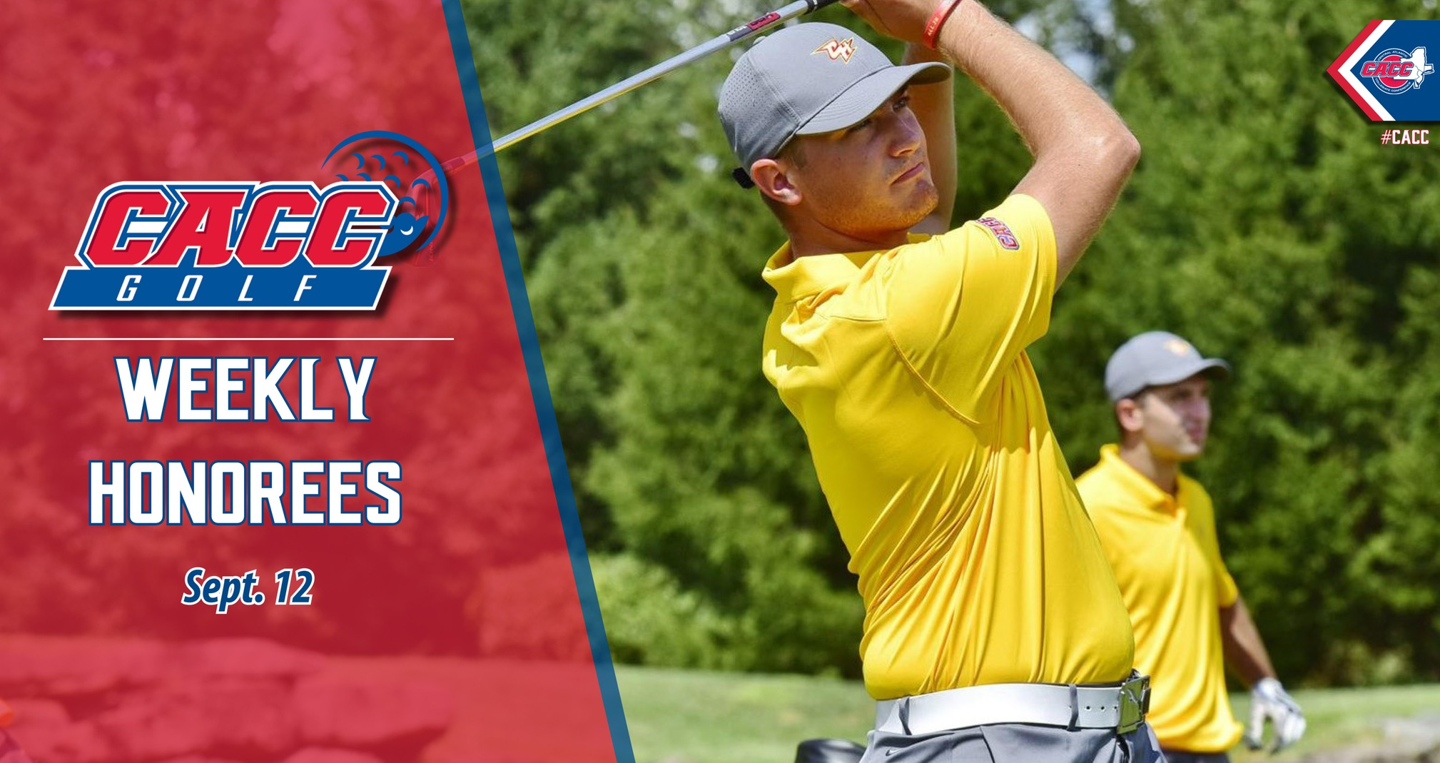 CACC Golf Weekly Honorees (Sept. 12)