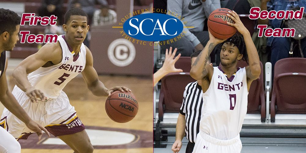 Pair Named All-Conference for Gents Basketball