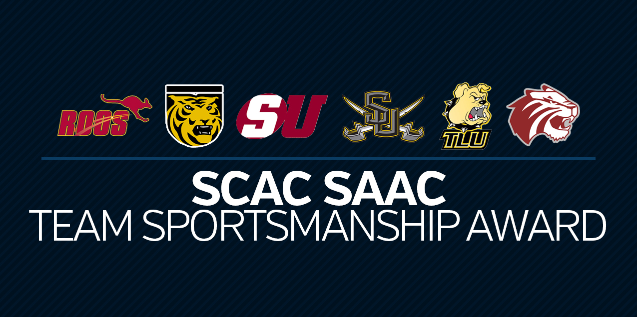 SCAC Announces Team Sportsmanship Awards