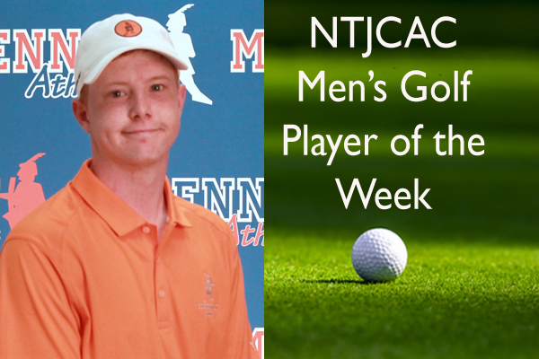 NTJCAC Men's Golfer of the Week (Sept. 3-9)