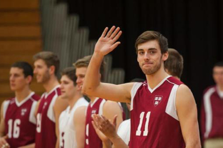 No. 15 Harvard Men's Volleyball Continues Win Streak at Rutgers-Newark, 3-0