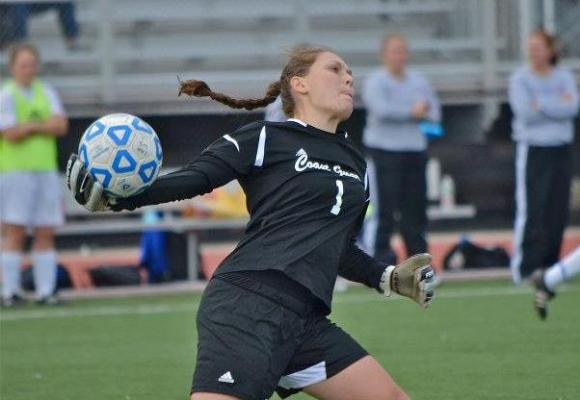 Moore First Start in Goal Leads to NEWMAC Player of Week Honors
