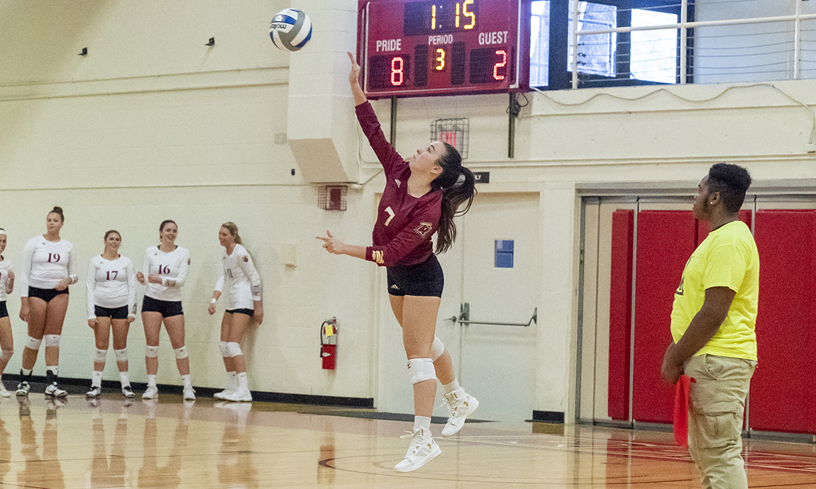 Regis Women's Volleyball Cruises to GNAC Victory