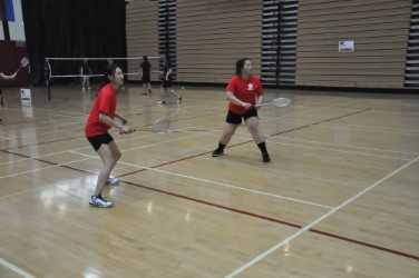 Fresno City College's pair of Soua Kong and Bao Vang are one of the four semifinalist doubles squads who advanced on Day 2 of the CCCAA State Individual Badminton Championships.