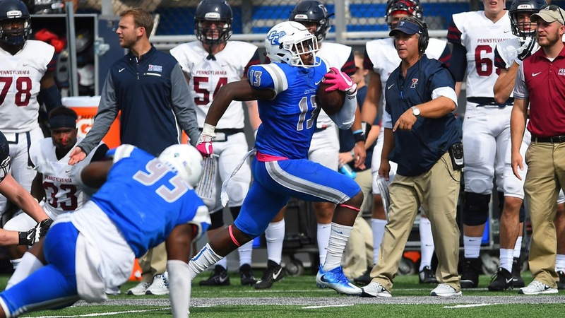 Football Downs Penn on Homecoming, 42-21