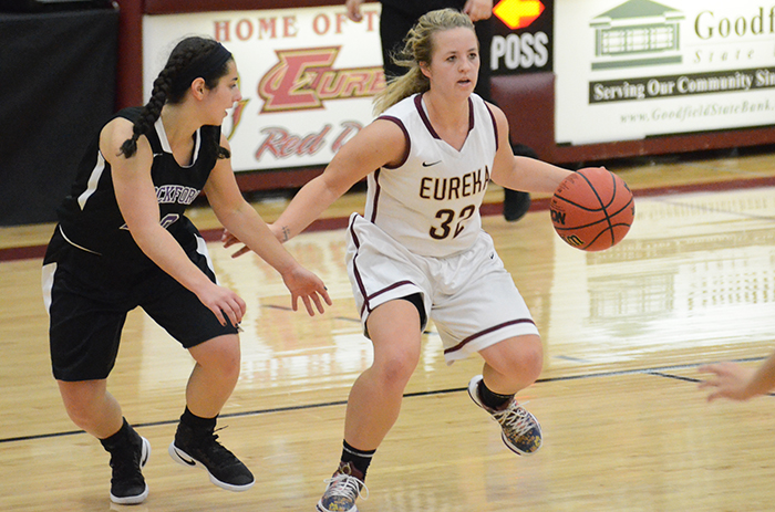 Eureka Gets to 7-0, Dumps Iowa Wesleyan, 64-49