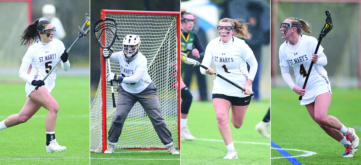 Gussio Highlights St. Mary's College Women's Lacrosse CAC Honors