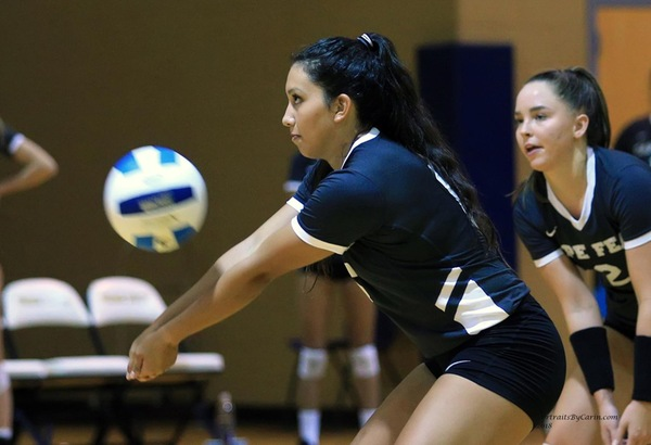 CFCC Volleyball Loses Road Contests