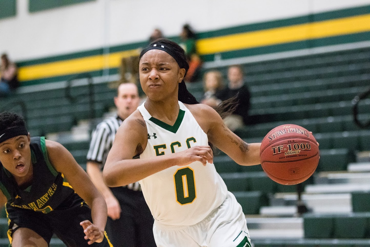 Women's basketball hangs on for close win over Cecil College