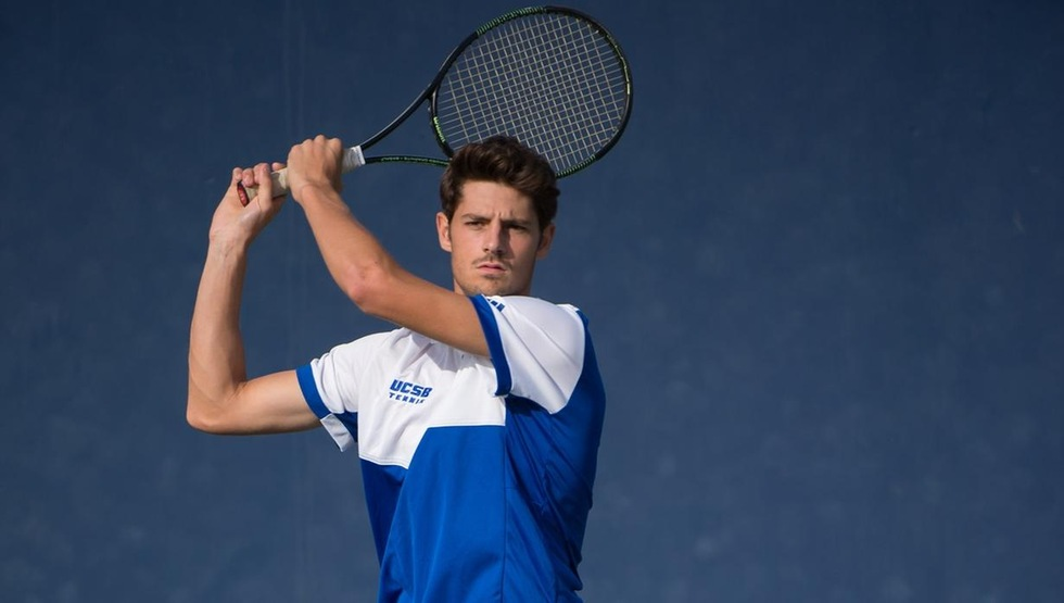 Sophomore transfer Joseph Guillin has won 11 consecutive singles matches including his debut at the No. 1 court today.