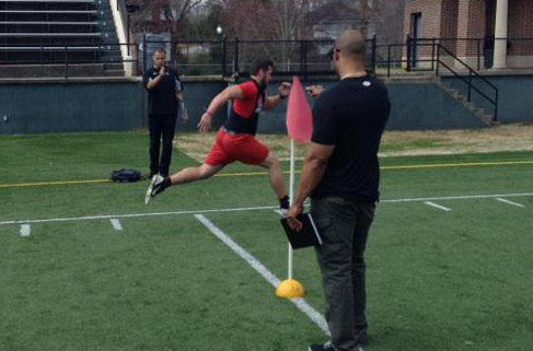 Football: Four Panthers participate in Pro Day
