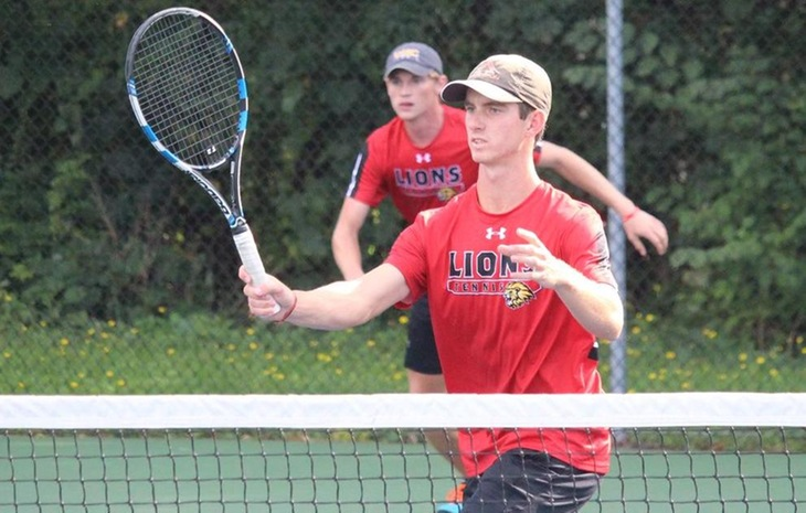 Men's Tennis Opens CCC Slate with 9-0 Victory over Curry