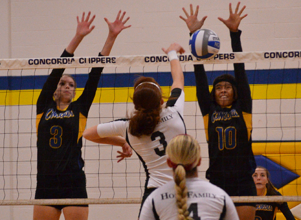 Clippers Downed by Holy Family, 3-1