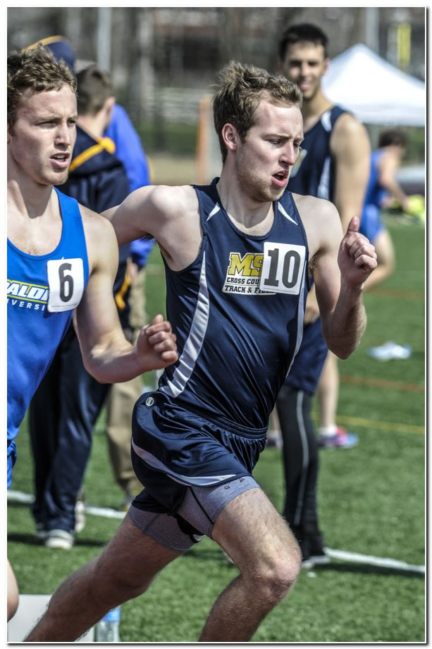 Lions' men's track & field team competes at ONU Polar Bear Invitational