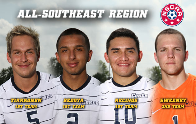 Four Cobras Named to the All-Southeast Region Team