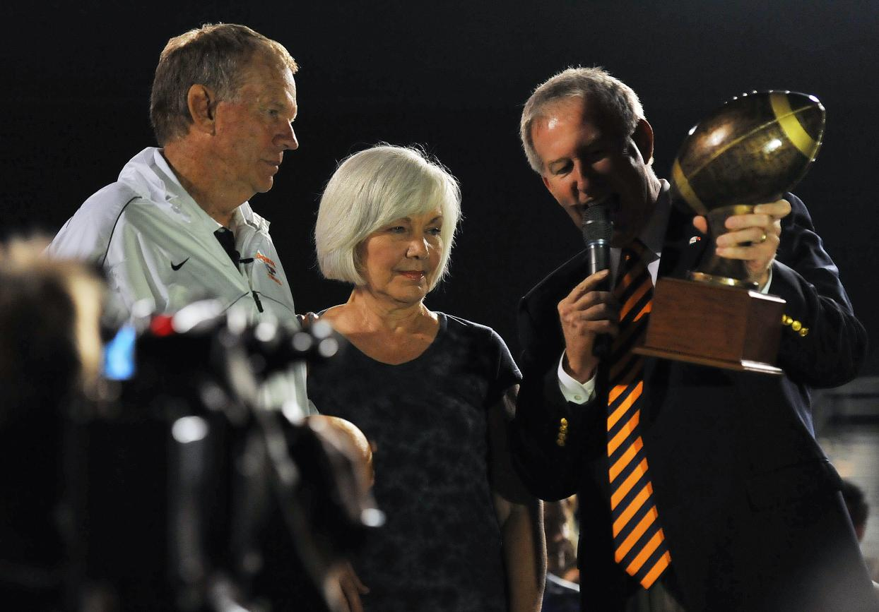 Ken Sparks wins 300th career game, C-N moves to 1-0 for 2012.