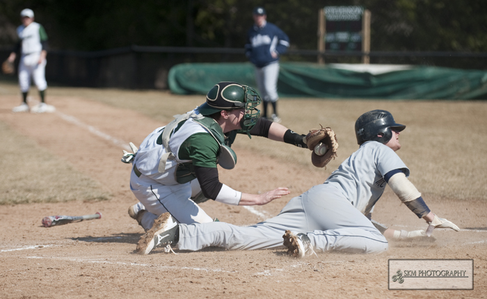 Schilling, Grove Drive in Three Runs Each in 8-3 Victory Over Mt. Aloysius