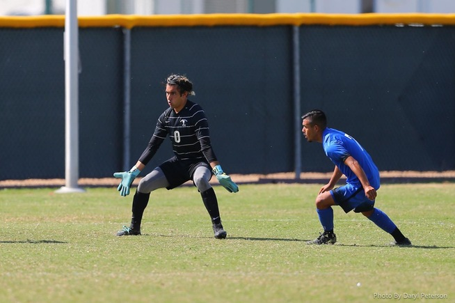 File Photo: Goalkeeper Jordan Aldama kept Compton off the scoreboard in a 0-0 tie