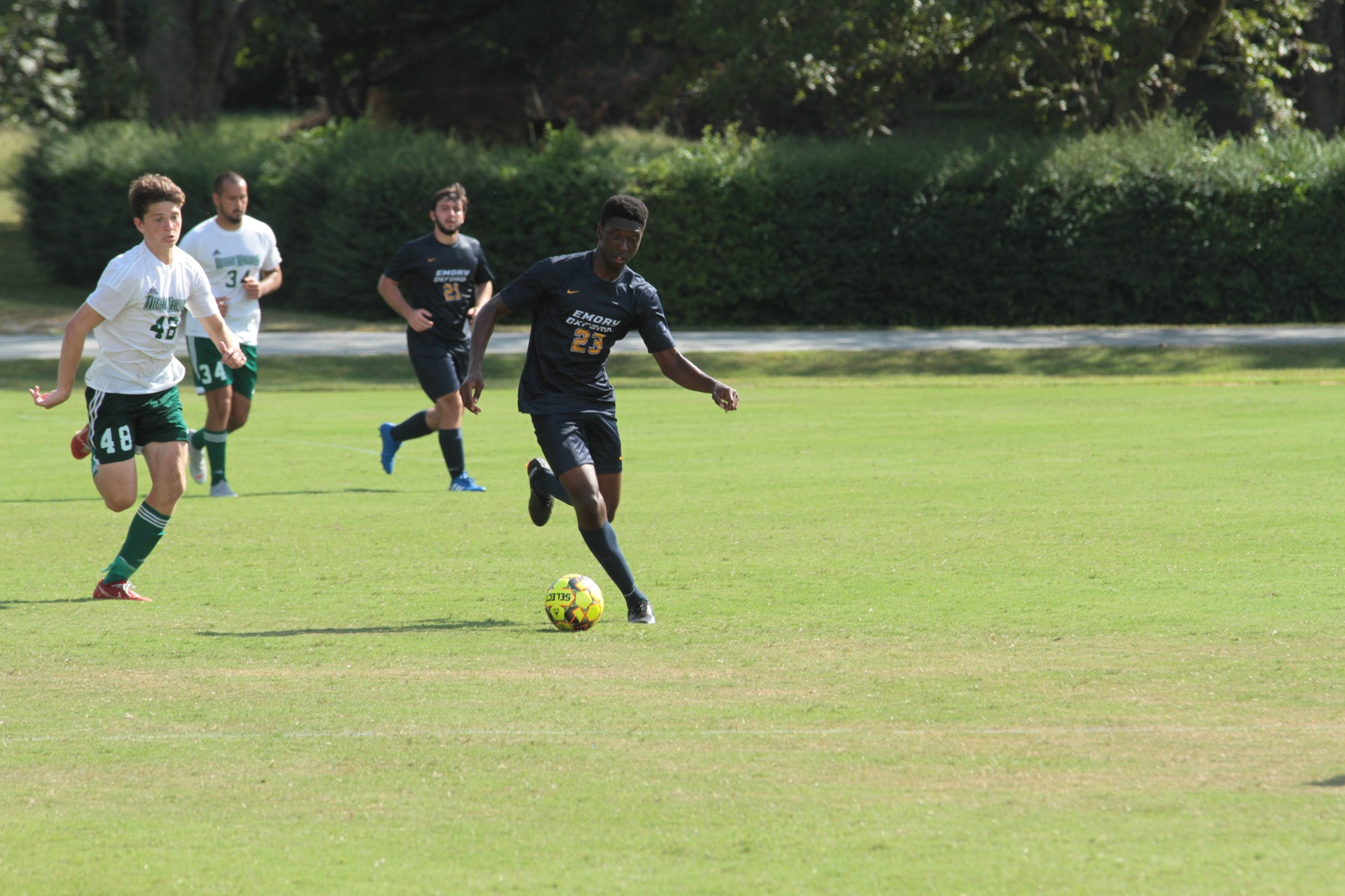 Men's Soccer clinches win against Trinity College