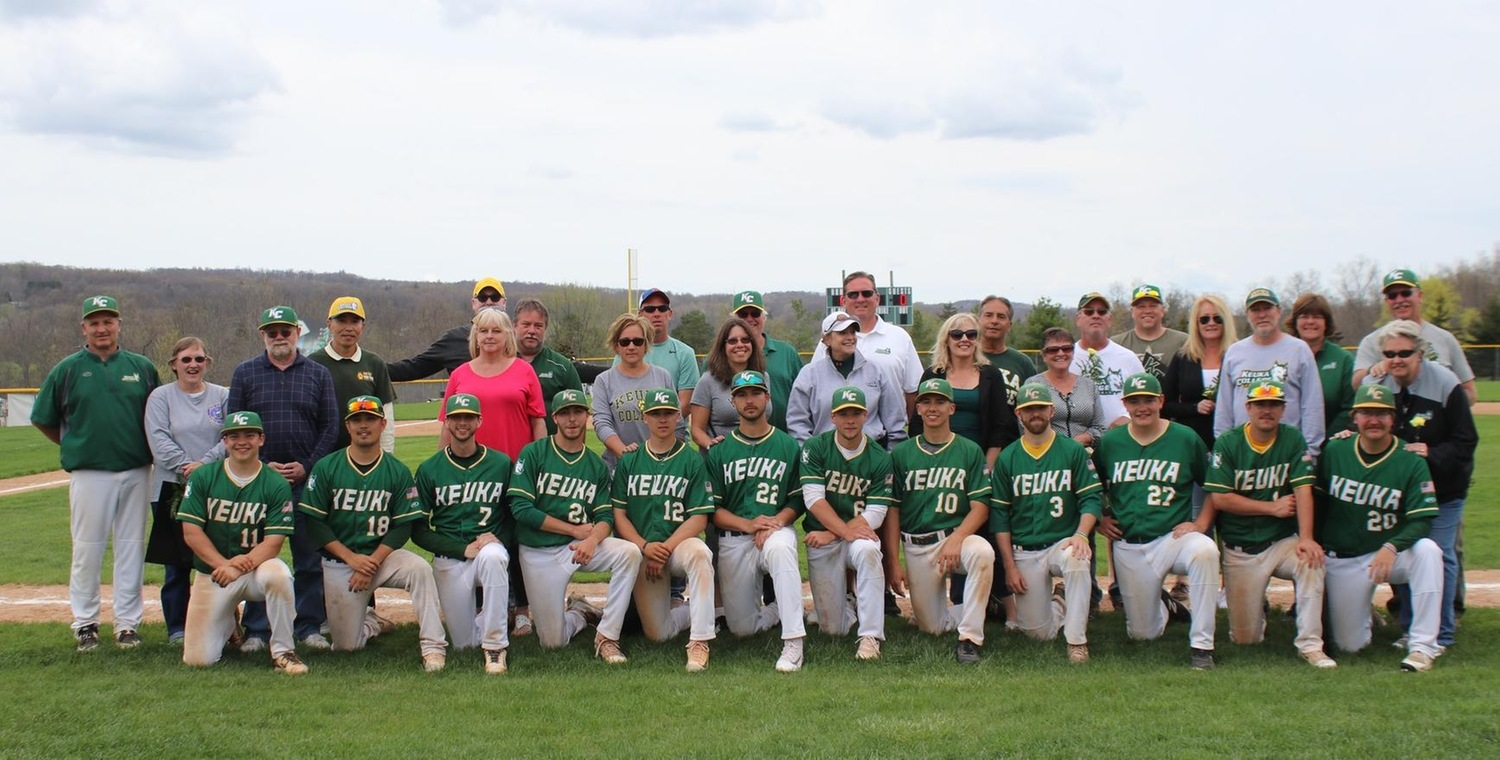 Keuka College Baseball Class of 2018 -- Photo by Mary Mullen