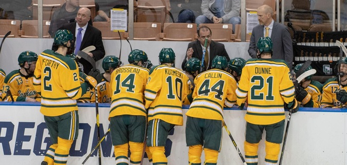 Clarkson's Season Ends with OT Loss to Notre Dame
