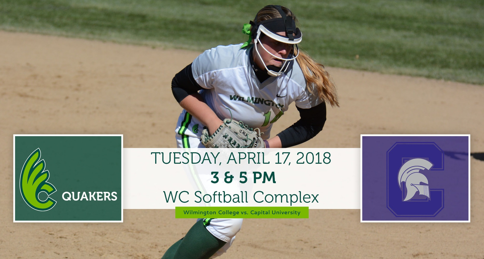 Softball Opens Home Stand With Capital on Tuesday
