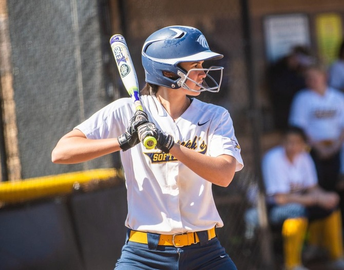 Softball and Mt. St. Vincent Split Skyline Doubleheader