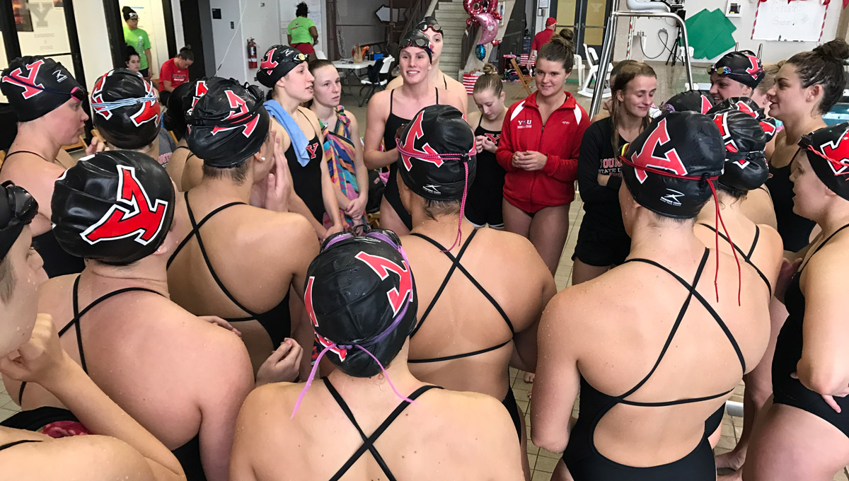 2016-17 YSU Swimming & Diving Season In Review