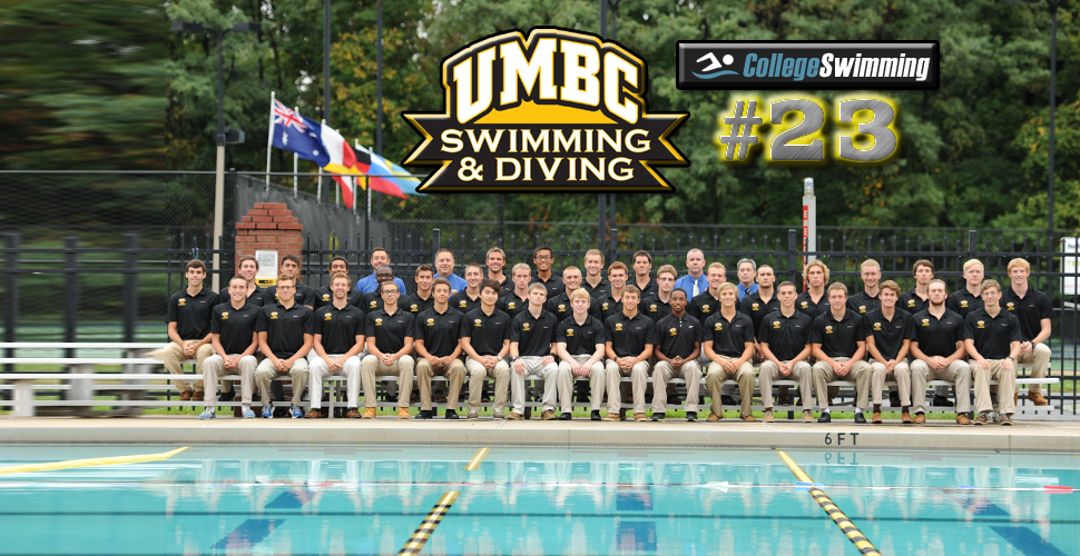 Retriever Men Ranked for Second Year in a Row; Slotted 23rd by CollegeSwimming.com