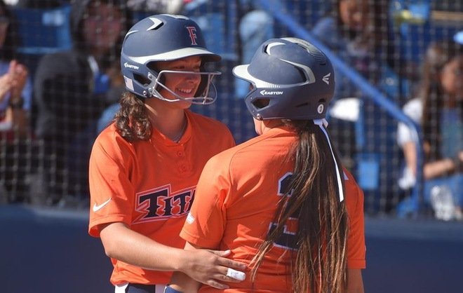 Titans Split Doubleheader at UCSB