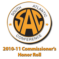782 Student-Athletes Named to SAC Commissioner's Honor Roll