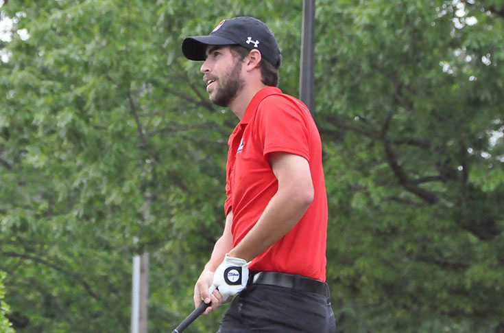 Golf: Panthers third after first round of USA South Tournament