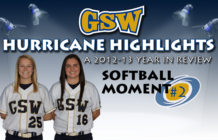 GSW Softball Hurricane Highlight #2: Two of a Kind