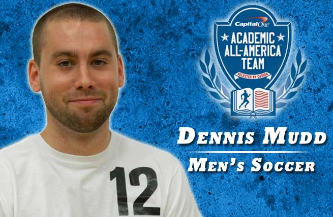 Dennis Mudd Named Capital One Academic All-American