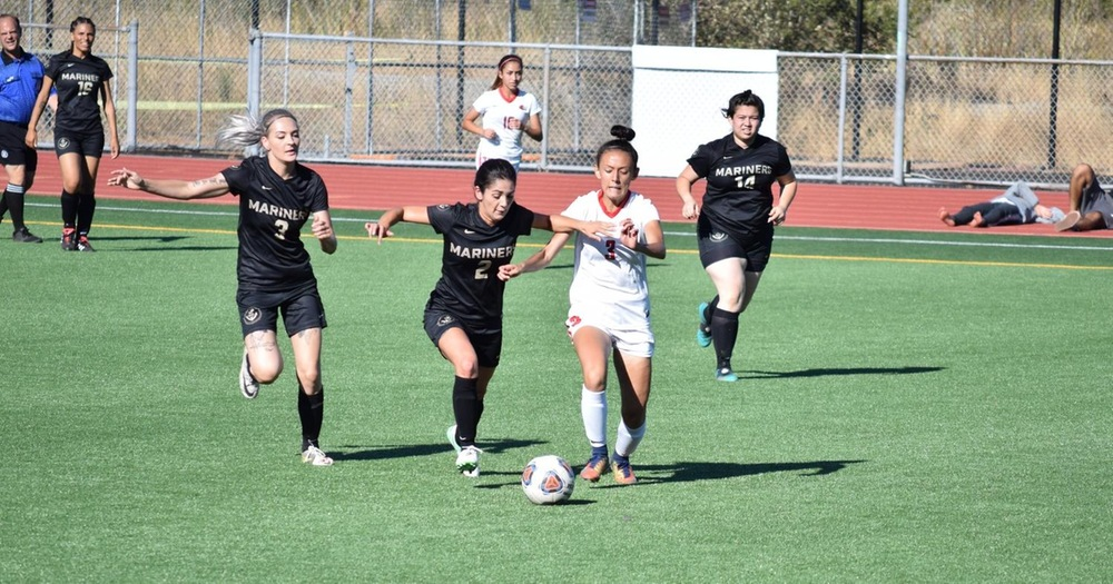 Mariners Women's Soccer Opens Promising Season With Loss To Las Positas College of Marin
