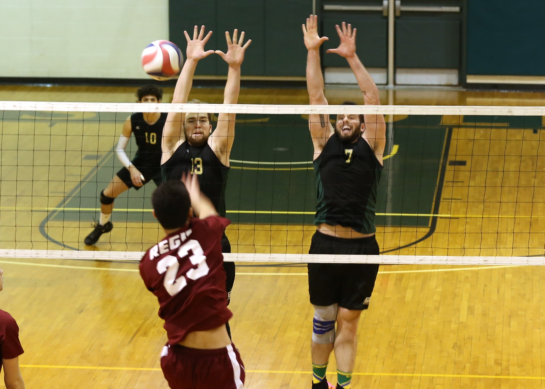 Men's Volleyball Sweeps Newbury On Senior Day