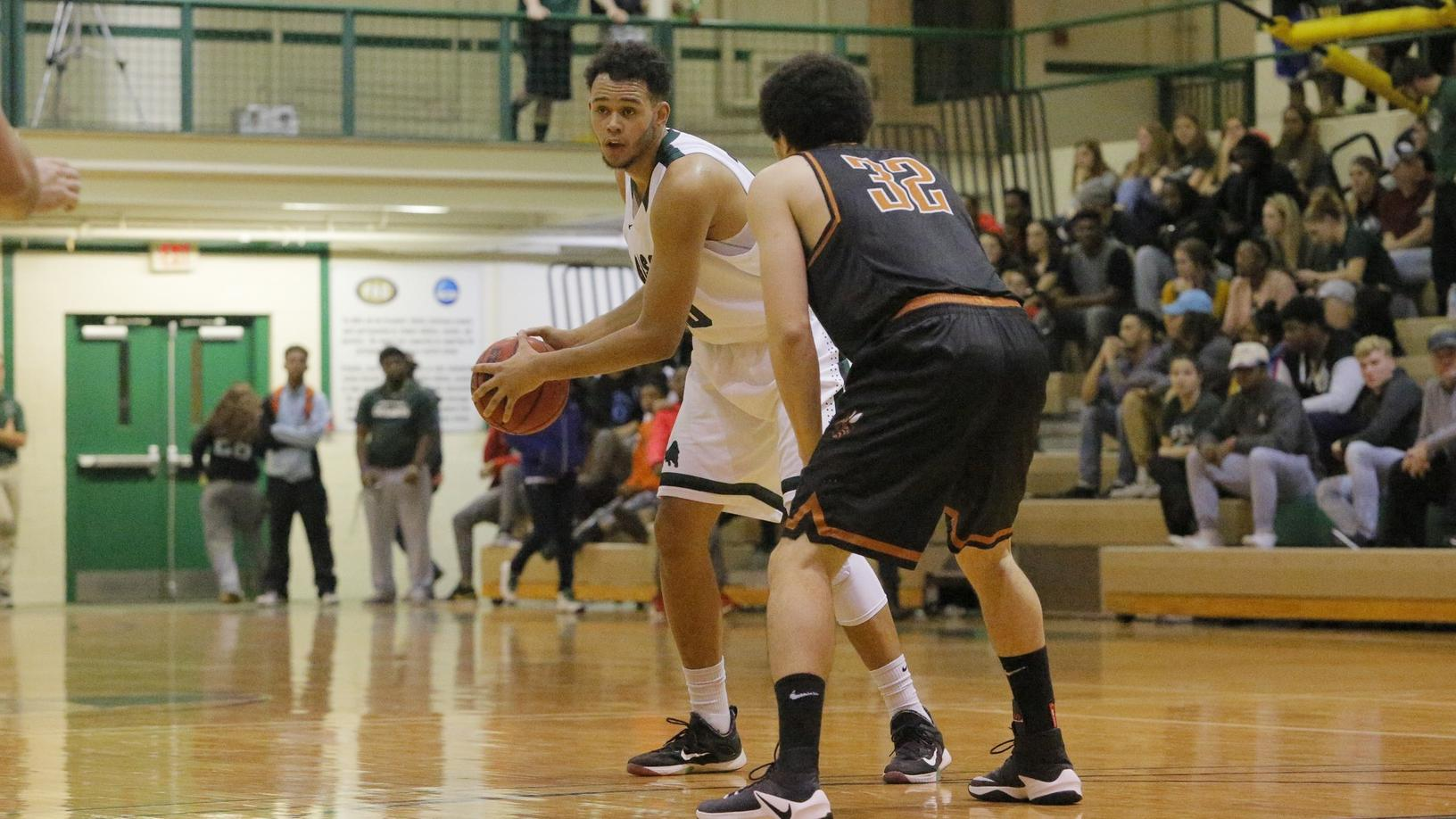 Men's basketball defeated by Lancaster Bible, 83-69