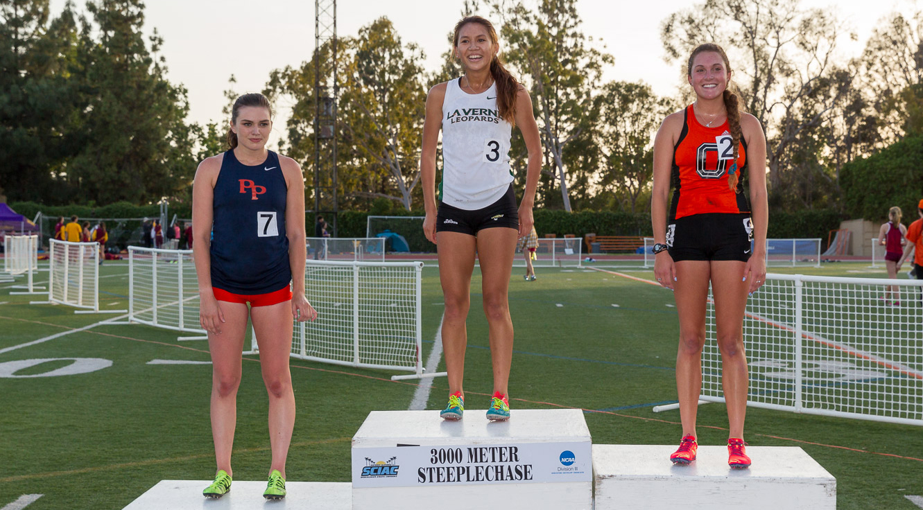 Cerrillos wins steeplechase on first day of SCIAC Championships