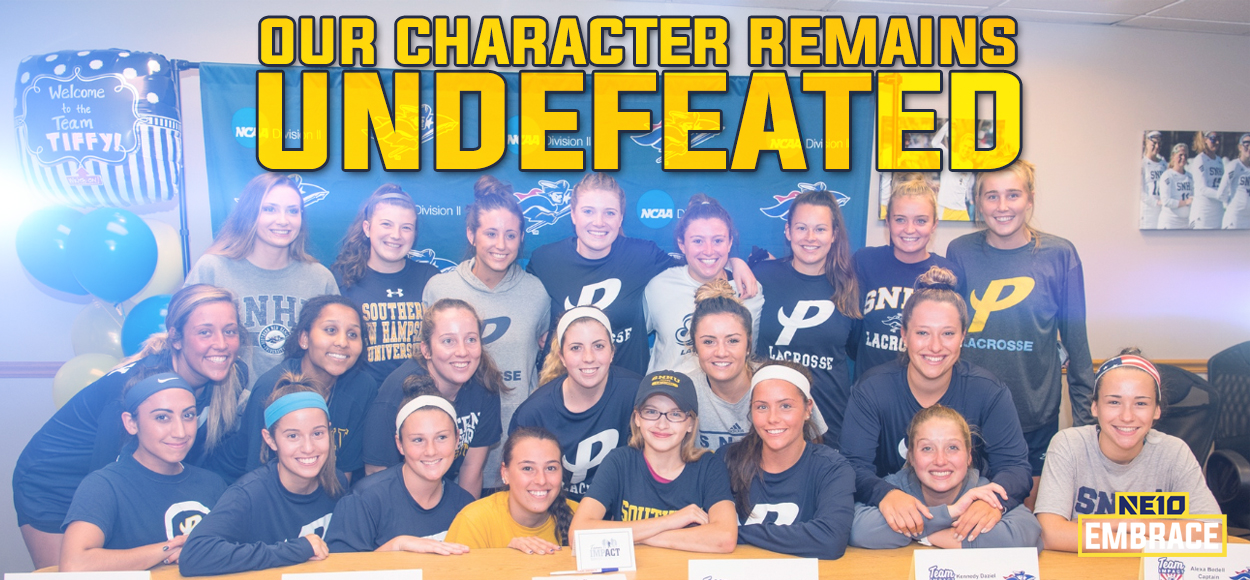 Embrace The Impact: Southern New Hampshire Women's Lacrosse Welcomes Tiffy to its Program