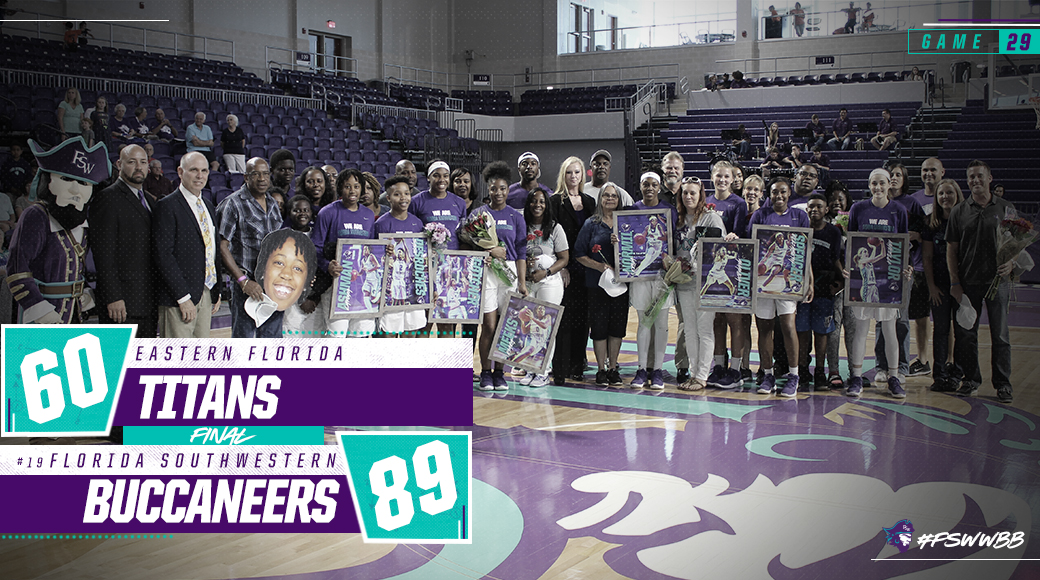 No. 19 #FSWWBB Secures Program's First Conference Title With Win Over Eastern Florida