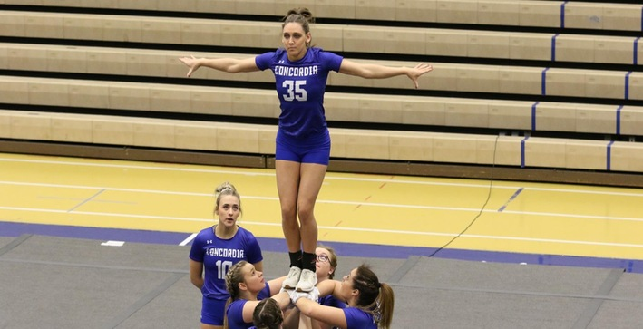 Acrobatics and Tumbling posts season-high score at No. 6 Fairmont State