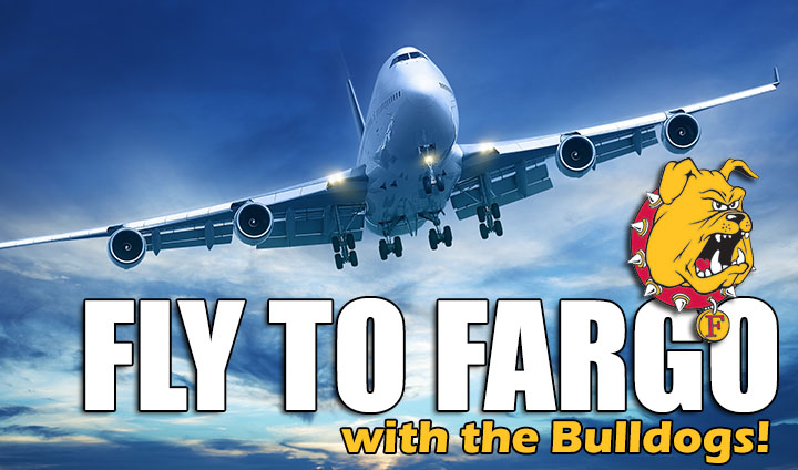 Travel With The Bulldogs To Fargo; Limited Seats Remain Available On Team Charter