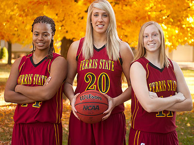 The Bulldogs have three seniors in Tiara Adams, Andrea Clancy and Becci Houdek (FSU Photo Services)