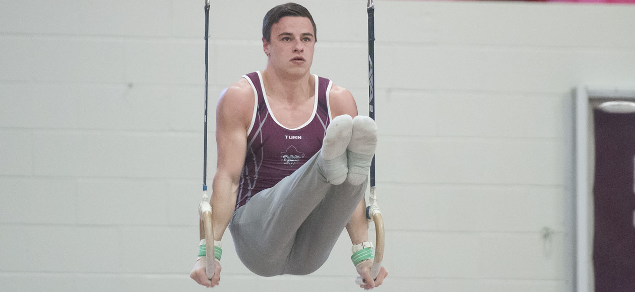 Men's Gymnatics Opens Season at the West Point Open