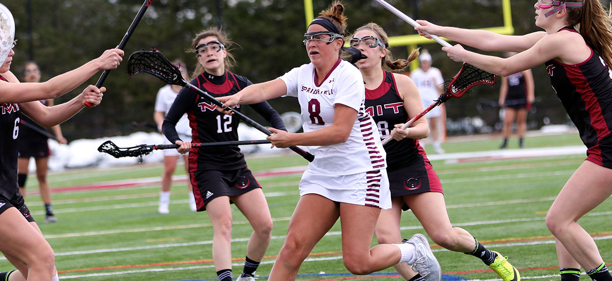 Corsano Breaks Program's Career Scoring Record; Women's Lacrosse Upends Coast Guard, 17-6