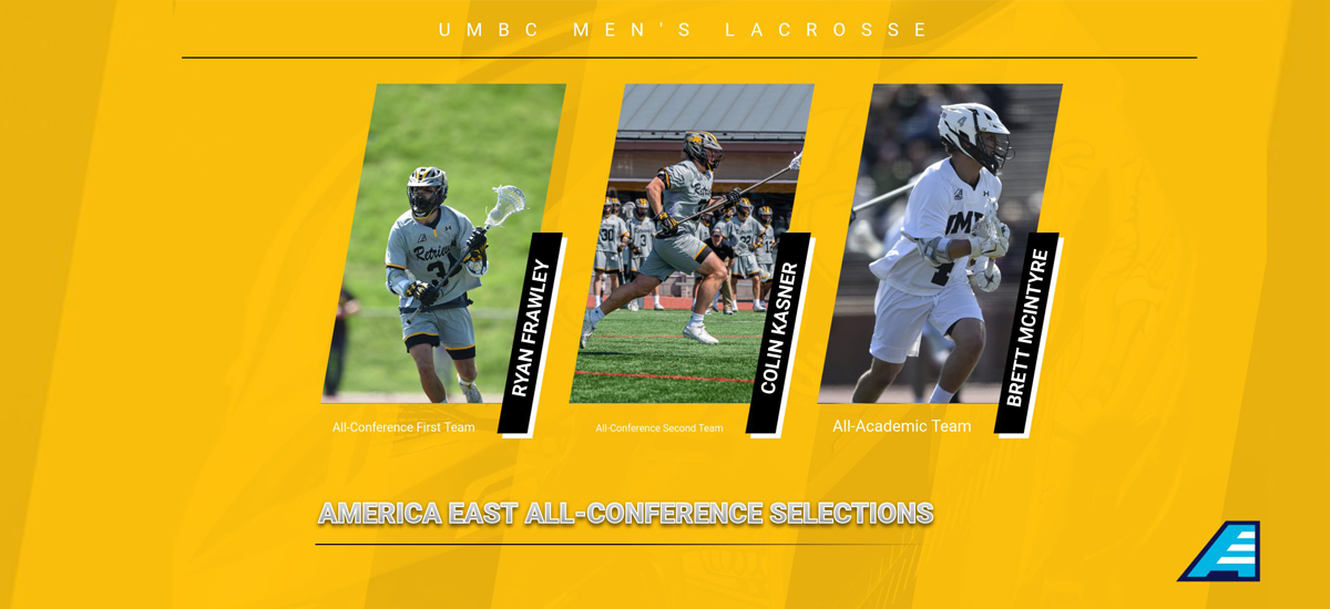 Frawley, Kasner, McIntyre Earn #AEMLAX All-Conference Honors